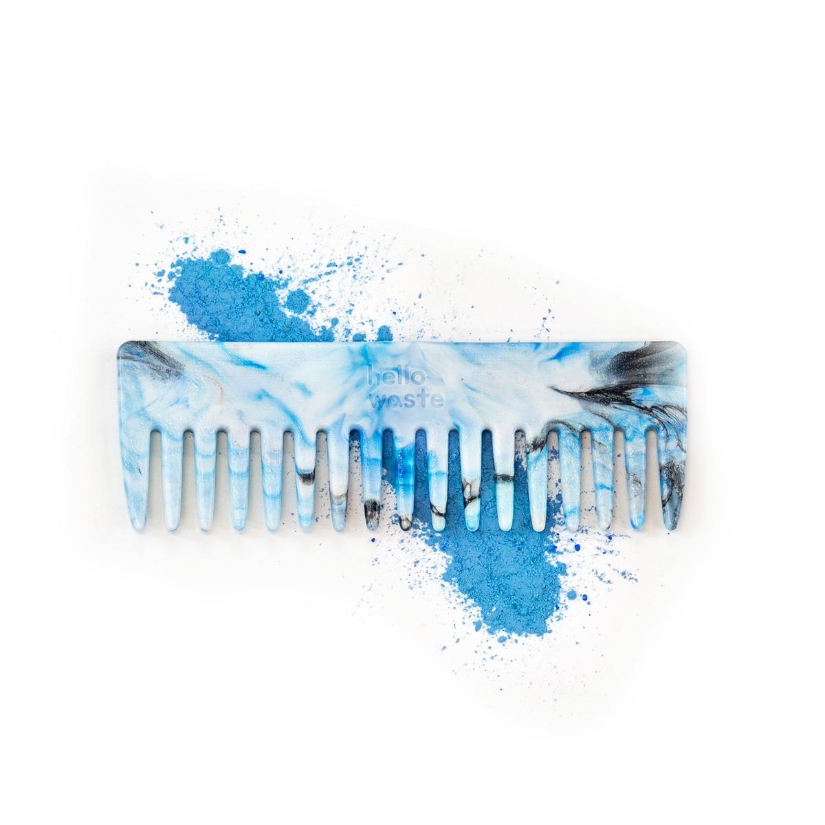 Peigne recyclé le futé bleu