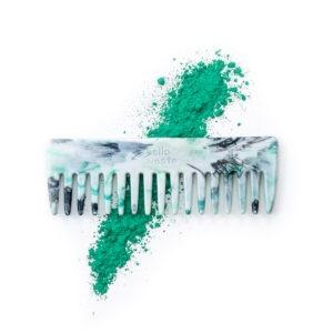 Peigne recyclé le futé vert